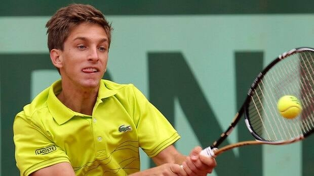 Canada's Filip Peliwo, shown in this June 2012 file photo, has reached his third straight Grand Slam junior final.