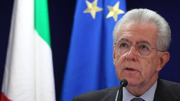 Italy's Prime Minister Mario Monti, shown here at last month's EU summit in Brussels, has told the president he will resign soon, saying he can no longer govern after Silvio Berlusconi's party withdrew crucial support.