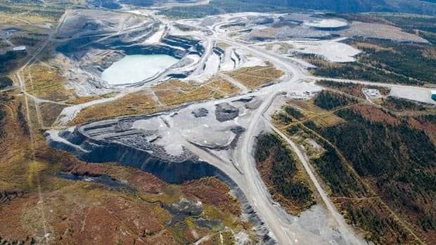 An aerial view of the Grum pit at the Faro mine complex in 2006. The Kaska say the Yukon government has broken promises made about First Nation participation in the mine's clean-up.