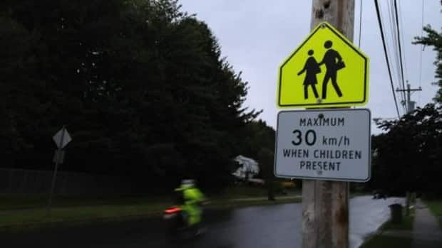 Across Nova Scotia police want people to pay attention to the new rules for speeding in school zones