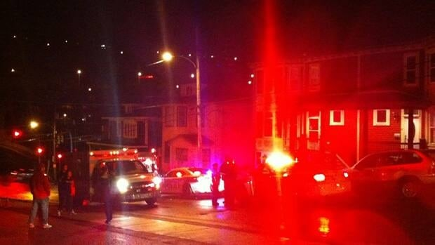 Police and emergency response crews were called to Leslie Street in St. John's on Thursday night.