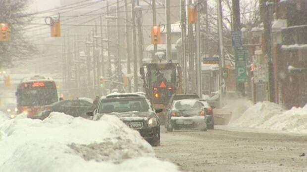 It wasn't quite a winter wonderland for Ottawa motorists Friday.