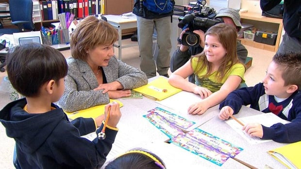 Premier Christy Clark was the education minister in 2002, when the province first put in place legislation that banned bargaining on class size and composition.