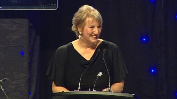 Premier Kathy Dunderdale once again voiced her support of the Muskrat Falls project to 650 supporters at a PC party fundraiser Wednesday night.