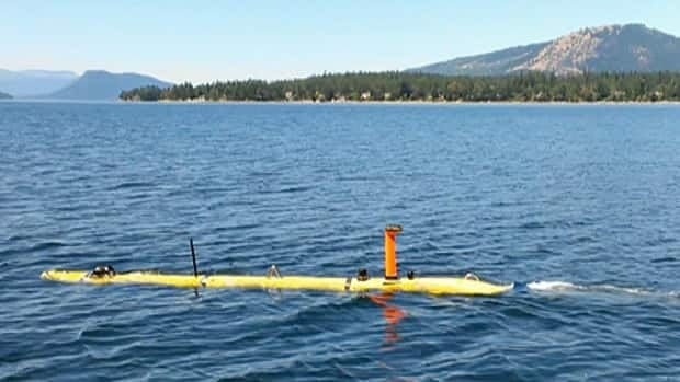 The Mano, known as an AUV — Autonomous Underwater Vehicle — will travel on its own, systematically mapping the ocean floor, no matter what surface conditions plague the scientists.