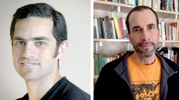 Tarek Loubani, seen at left, and John Greyson, seen at right, have been detained without formal charges in Egypt since Aug. 16.