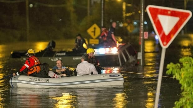 The Toronto floods on July 8 were caused by an unsually severe storm that dropped nearly twice the monthly average in just a few hours, but climate experts say these events will become more frequent in the coming years.
