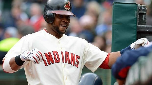 Last season, Indians catcher Carlos Santana was one of only four major leaguers to have at least 25 homers, 35 doubles and 90 walks.