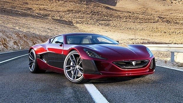 The Rimac Concept_One can go up to 600 kilometres on one charge.
