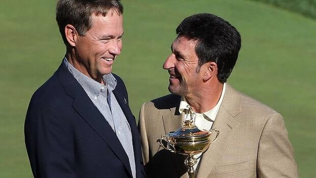 The admiration Davis Love III, left, and Jose Maria Olazabal, right, have for each other started long before they were appointed Ryder Cup captains for the United States and Europe, respectively.