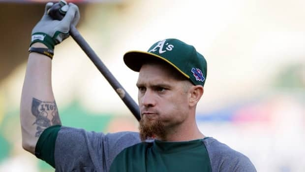 Outfielder Jonny Gomes is a career .244 hitter who batted .262 with 18 homers and 47 RBIs for the Oakland Athletics last year.