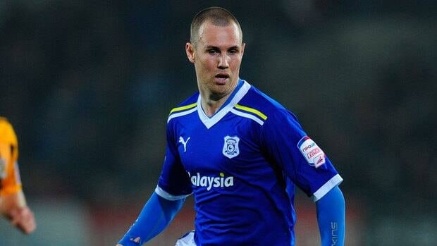 Kenny Miller, seen here playing for Cardiff, signed with the Vancouver Whitecaps on Monday.