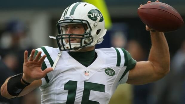 Tim Tebow was called upon to make just eight passes all season, completing six for 39 yards.