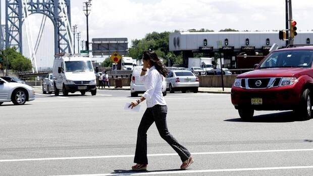 Half of Toronto's pedestrian fatalities this year have involved vehicles turning at intersections.