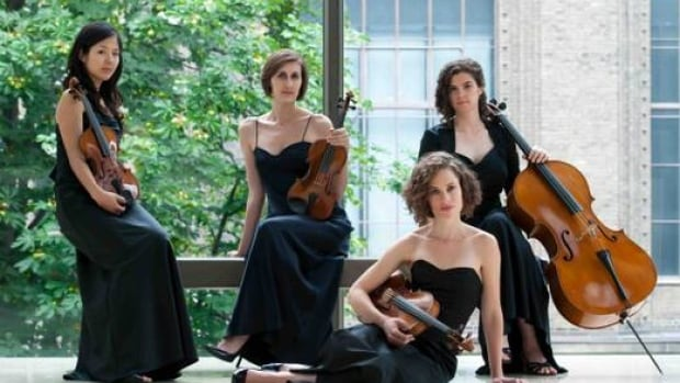 The Cecelia Quartet, winner of the 2010 Banff competition.