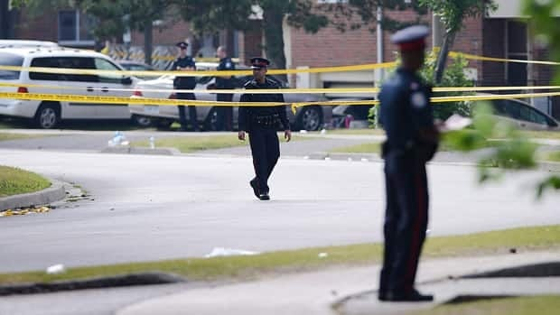 Toronto police say the Galloway Boys street gang was involved in six shootings and three homicides over the past year, including the deadly violence at a street party on Danzig Street this summer.