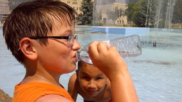 Scorching heat in Winnipeg sends residents in search of cool relief.
