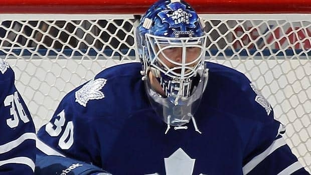 Ben Scrivens, seen during a call-up with the Maple Leafs, has helped lead the AHL's Toronto Marlies to the Calder Cup final.