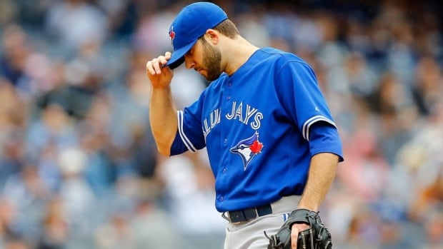 Brandon Morrow has made 10 starts for Toronto this season, going 2-3 with a 5.63 ERA.
