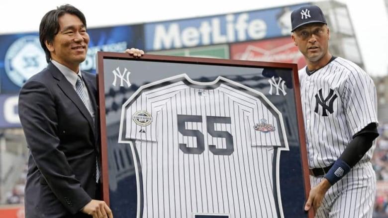 2009 World Series MVP and former New York Yankee Hideki Matsui 8886207fad9