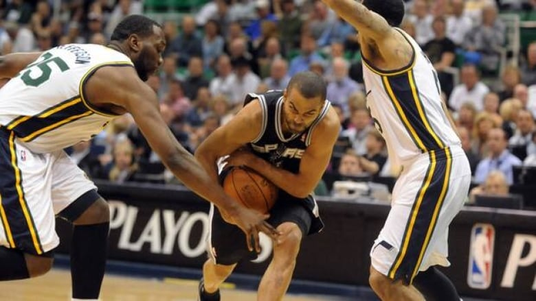 Spurs complete sweep of Jazz: NBA playoffs   CBC Sports