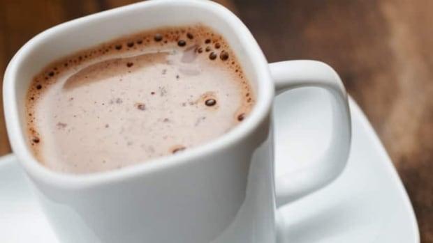 Chop up all that leftover chocolate to make the most indulgent hot chocolate you'll ever taste.