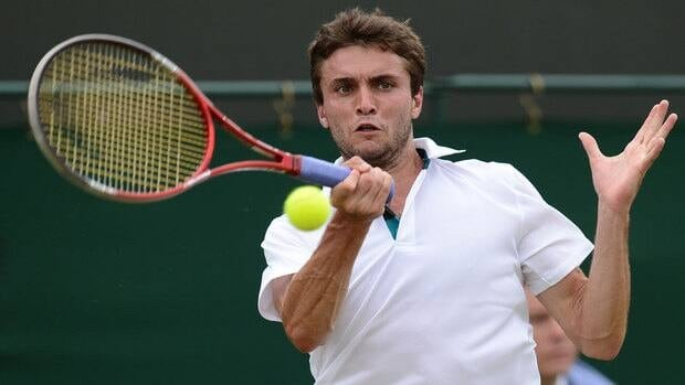 France's Gilles Simon said Wednesday that men should be paid more than women at tennis tournaments.