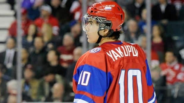Nail Yakupov has visited the Edmonton Oilers, who hold the top overall draft pick for the third straight year.