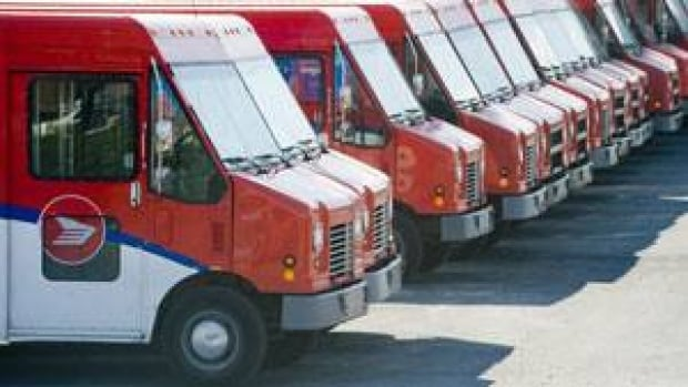 Canada Post has warned its mail volumes are 'likely to decline further and rapidly.'