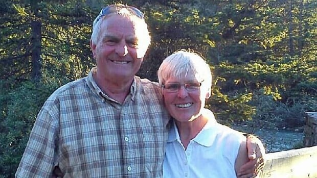 Robert and Irene Booth were killed earlier this week when they were cycling near Nipigon, Ont.
