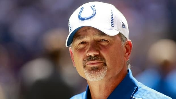 Chuck Pagano of the Indianapolis Colts is in his first season as a head coach.