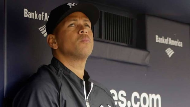New York Yankees third baseman Alex Rodriguez is a 14-time all-star.