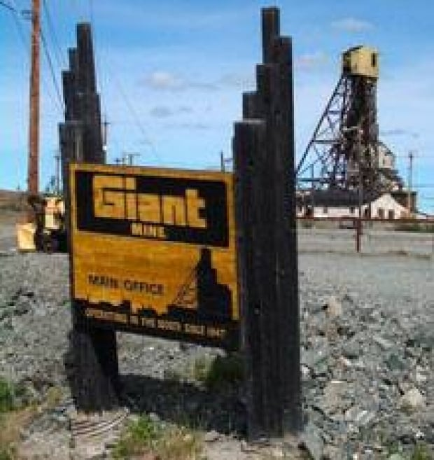 north-giant-mine-sign