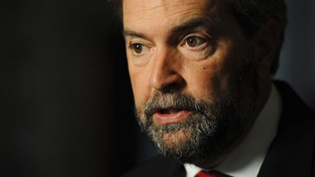 New Democratic Party leadership hopeful Thomas Mulcair says he's proud to hold both Canadian and French citizenship.