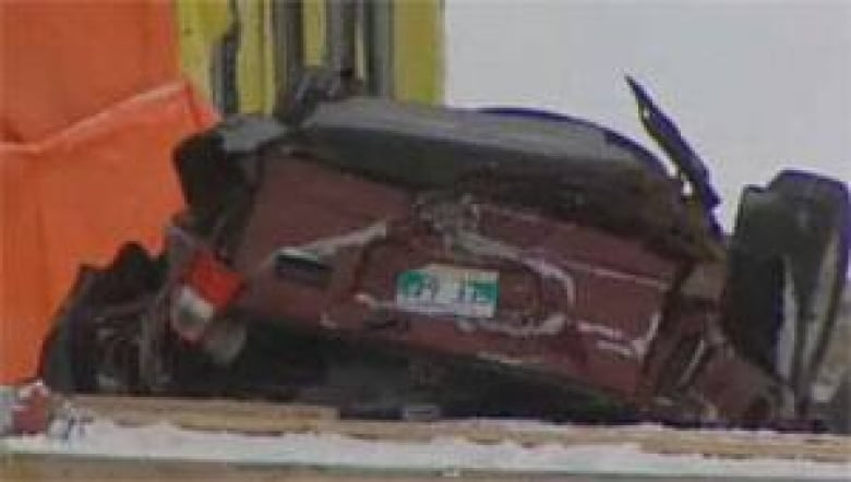 Kaitlyn Fraser S Suv Fell About 14 Metres Onto The Frozen
