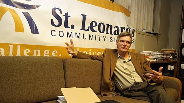 Bill Sanderson, executive director of St. Leonard's Community Services, says the charity took a steep post-casino hit when it lost its bingo revenue and a large part of its Nevada ticket sales. About 100 Hamilton charities could be in a similar situation. (Samantha Craggs/CBC)