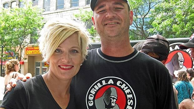 Susan Austin and Graeme Smith, co-owner of Gorilla Cheese are up for awards in a Southern Ontario food truck competition.