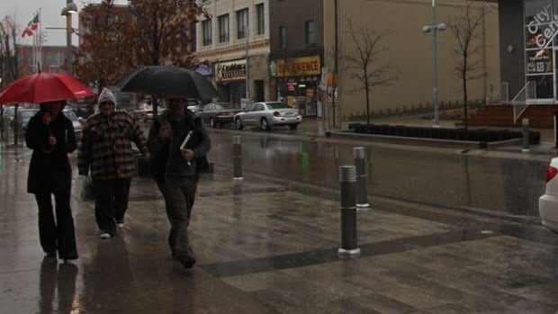 It might be 11 C on Wednesday, but rain is also in the forecast for Waterloo Region.