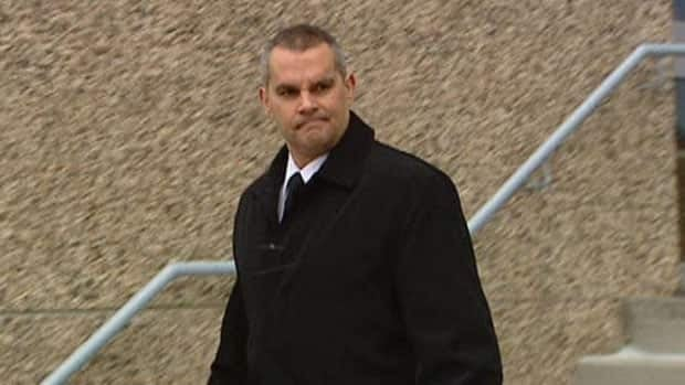 Cpl. Darryl Blampied, 43, did not speak to reporters after leaving Regina provincial court on Thursday. He pleaded guilty to a drinking-and-driving charge.