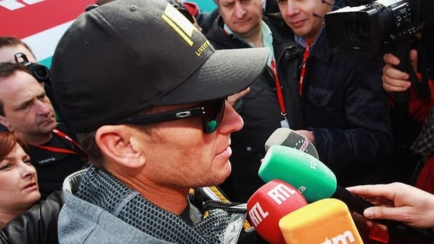 Seven times Tour de France winner Lance Armstrong, seen here at the 2012 Paris Roubaix cycle race, has been charged by the USADA with consumption of performance enhancing drugs.