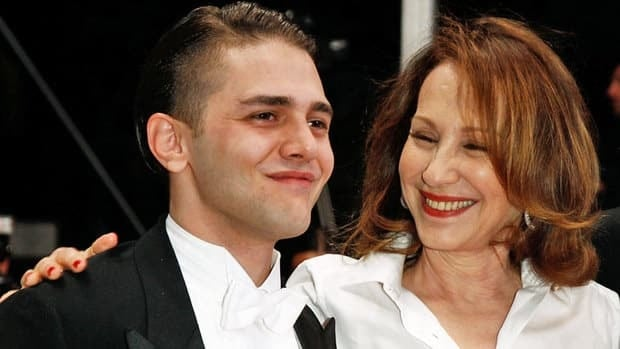 Filmmaker Xavier Dolan, left, and actor Nathalie Baye, right, attend the Laurence Anyways Premiere at Palais des Festivals on May 18, 2012 in Cannes, France. Although Dolan is only 23 years old, this is his third film at the French festival.