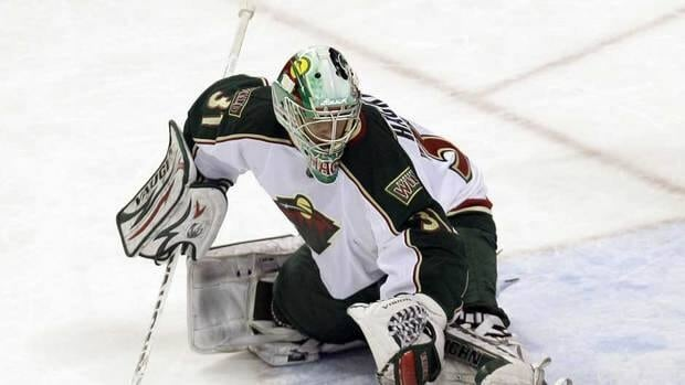 Minnesota Wild goalie Matt Hackett was recalled is 2-0 with an 0.68 goals against average and a .979 save percentage in four games with the Wild this season.