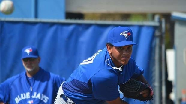 Blue Jays catcher J.P. Arencibia believes the work pitcher Henderson Alvarez, shown here, has done so far this pre-season will benefit him greatly going into this season.