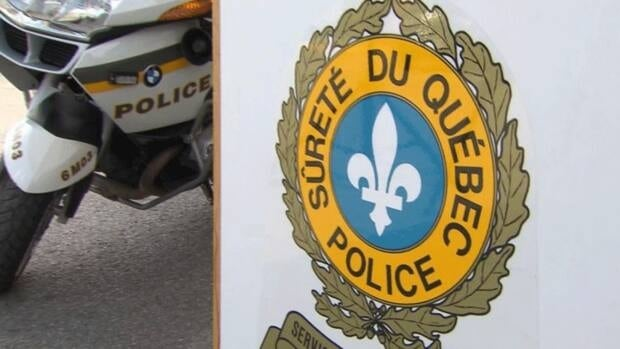 Quebec provincial police said an officer suffered a minor injury in a scuffle as police tried to take a suspect into custody.