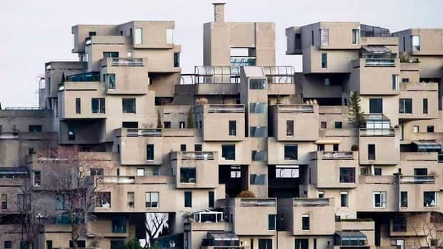 Montreal's Habitat 67 housing complex beat out iconic structures like Paris' Eiffel Tower and Rome's Coliseum in an internet vote.