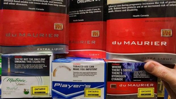 Different flavours cigarettes Marlboro