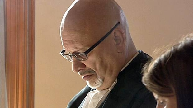 Defence lawyer Bob Simmonds (pictured) has withdrawn from the murder trial of David Folker.