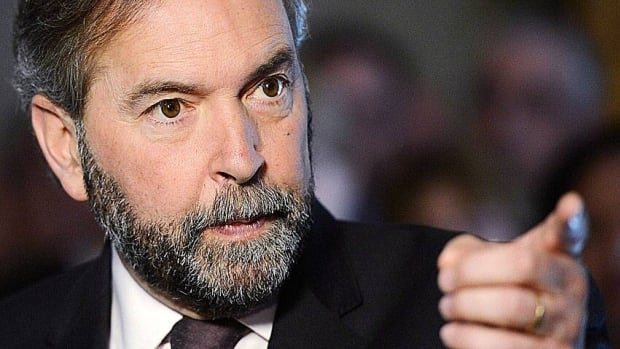 Conservative Party should pay for Wallin audit, Mulcair says
