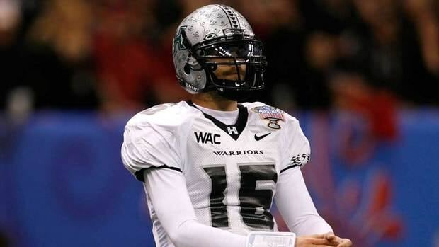 Colt Brennan, 28, was drafted by the NFL's Washington Redskins in 2008.