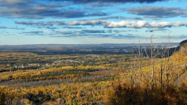 The Norwester Mountains in Thunder Bay, Ont., are the site of a proposed wind farm project.